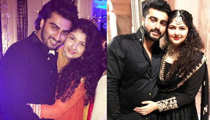 Anshula Kapoor Praises Arjun Kapoor's Shoe Game By Sharing Their Childhood Pic, Checkout His Reply