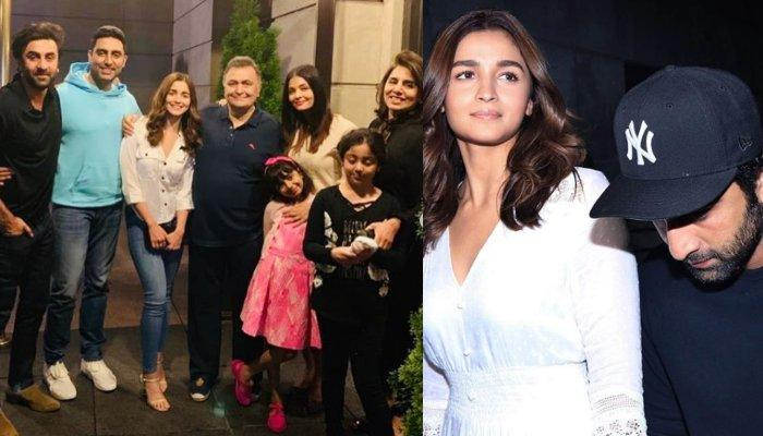 Alia Bhatt, Ranbir Kapoor Enjoy Family Time With Kapoors In New York, Aishwarya-Abhishek Too Join In