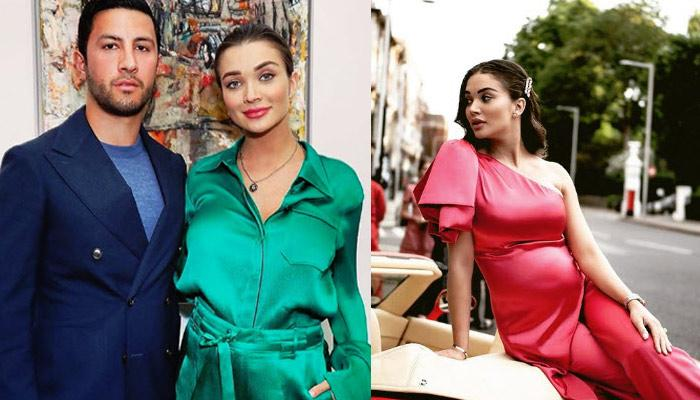 Amy Jackson Gives Closer Look Of Her Baby Bump From Gym, Also Reveals Her Morning Cravings