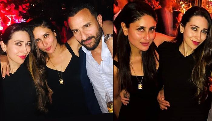 Kareena Kapoor Khan And Karisma Kapoor Twin In Black As They Party With Saif Ali Khan In Nawab Style