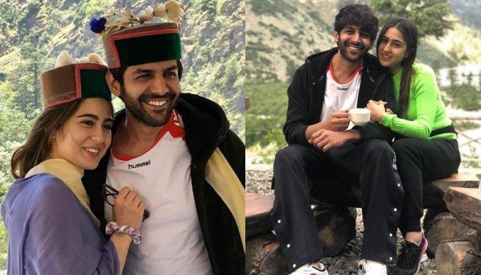 Sara Ali Khan And Kartik Aaryan's Latest Fun In Shoot Diaries Make Fans Call Them A Honeymoon Couple