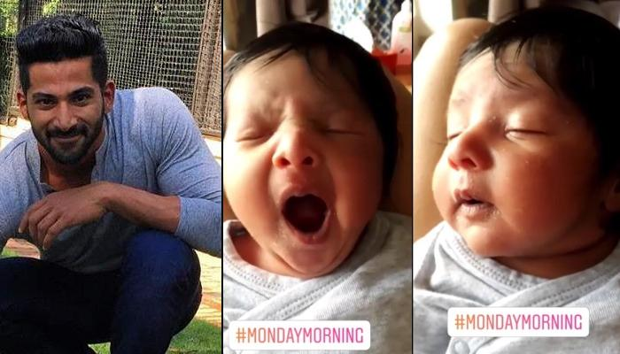 Vivan Bhathena's Daughter, Nivaya's Yawning And Sleepy Monday Morning Is Basically All Of Us [VIDEO]