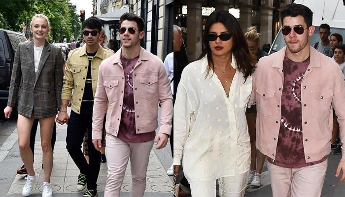 Priyanka Chopra Jonas And Nick Jonas Join Sophie Turner And Joe Jonas For A Lunch Date In Paris