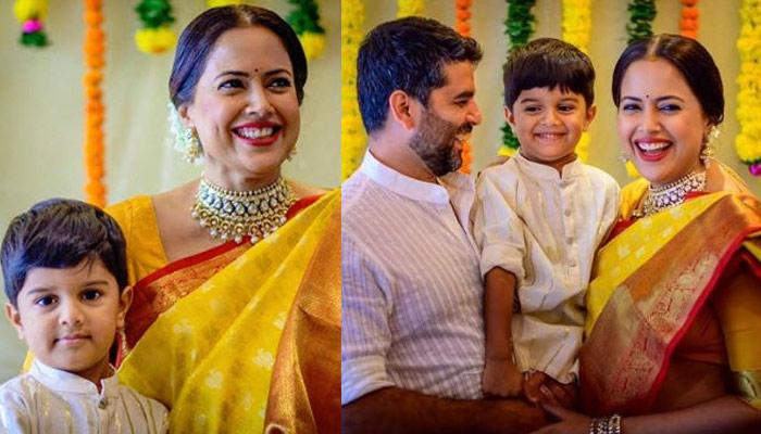 Sameera Reddy Shares She Was Into Depression After Her First Baby, Hans, Reveals How She Fought