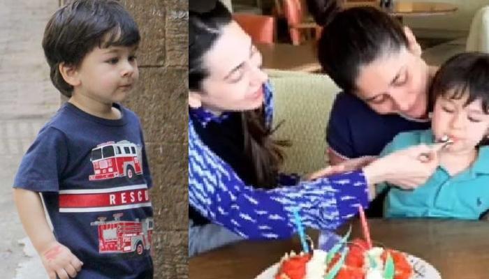 Taimur Ali Khan Celebrates Maasi, Karisma Kapoor's Birthday With Mommy, Kareena And Family