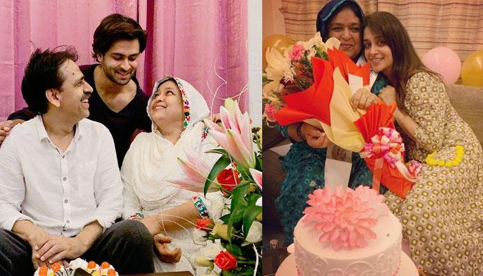 Dipika Kakar And Shoaib Ibrahim Celebrate His Parents' Wedding Anniversary, Pics And Video Inside