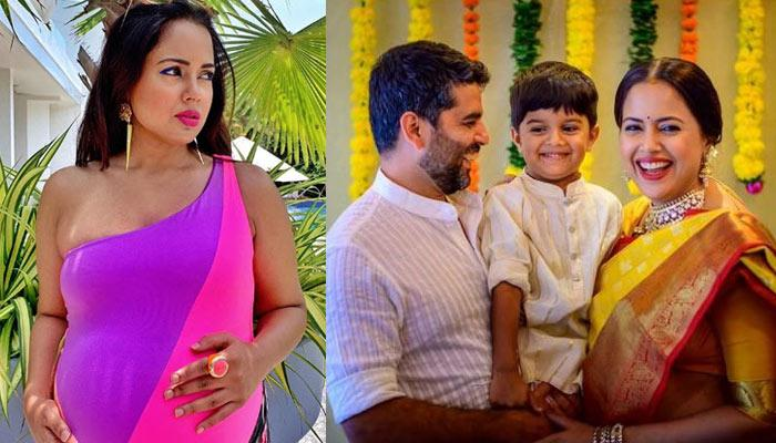 Sameera Reddy Shares Picture From Her Maternity Shoot, Reveals How She Is Feeling In Last Few Days
