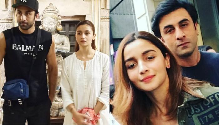 Alia Bhatt And Ranbir Kapoor Spotted Spending Some Alone Time In New York