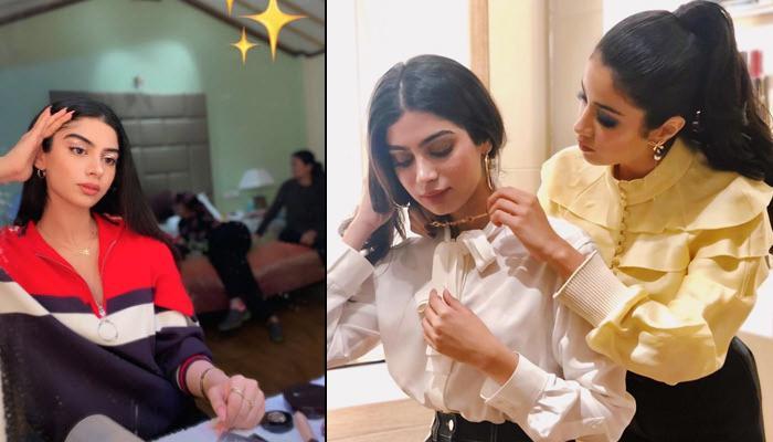 Khushi Kapoor Flaunting Eye Makeup Done By Janhvi Kapoor Explains 'Ek Hazaaron Mein Meri Behena Hai'