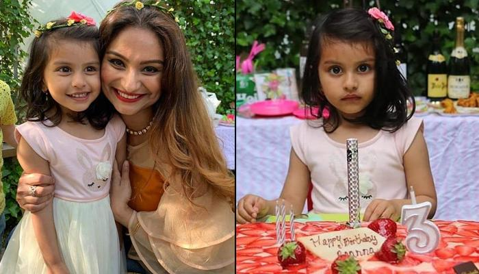 Dimpy Ganguly's Daughter Reanna's 3rd Birthday Bash Will Remind You Of Old-School 90s Celebrations