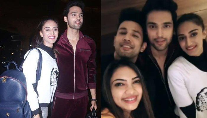 Parth Samthaan And Erica Fernandes Look Chic As They Leave For Switzerland With Entire Kasautii Team