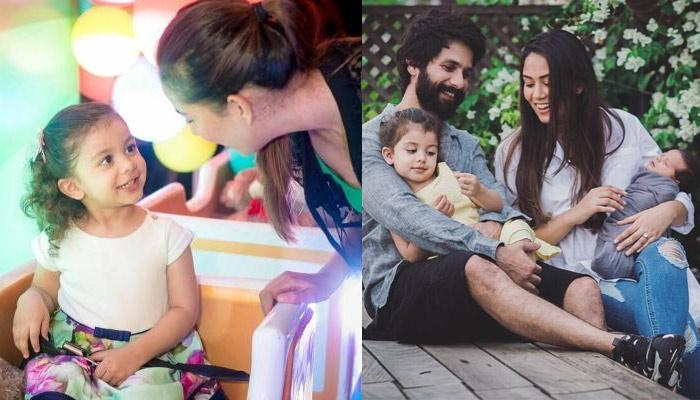 Mira Rajput Kapoor Styles Her Little Angel, Misha Kapoor's Hair With 90's Accessories [Check Inside]