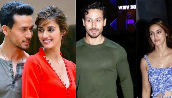 Disha Patani And Tiger Shroff Rubbish Breakup Rumours, Can't Stop Blushing On Their Dinner Date