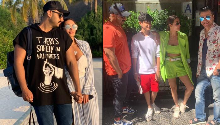 Malaika Arora And Arjun Kapoor Vacation With His Family, Sanjay Kapoor And Maheep Kapoor In New York