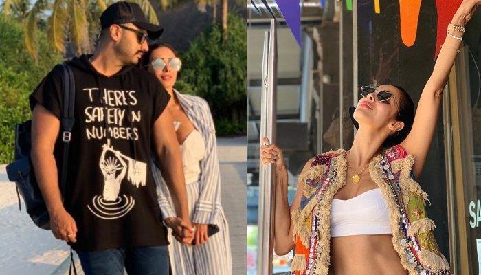 Arjun Kapoor Makes A Complete Boyfriend-Demand On Girlfriend, Malaika Arora's Latest Vacation Snap