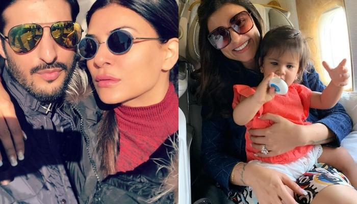 Rohman Shawl's 'Baby', Sushmita Sen's Picture With A Little Baby Is Too Cute To Miss