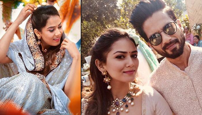 Shahid Kapoor And Mira Rajput Kapoor's Unseen Pictures In Their Traditional Best At A Family Wedding