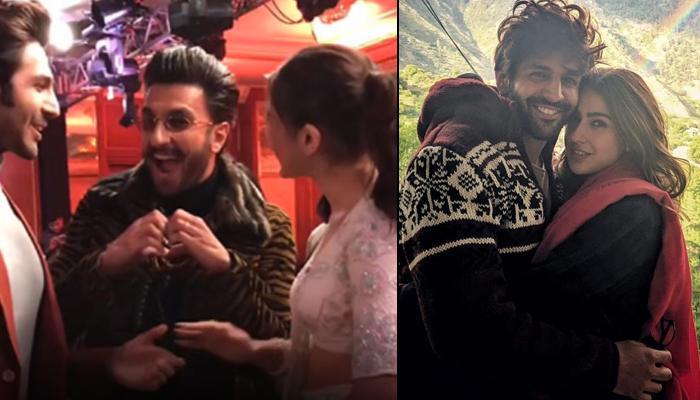 Sara Ali Khan And Kartik Aaryan's Cupid, Ranveer Singh Reminds Them How He Played A Perfect Wingman