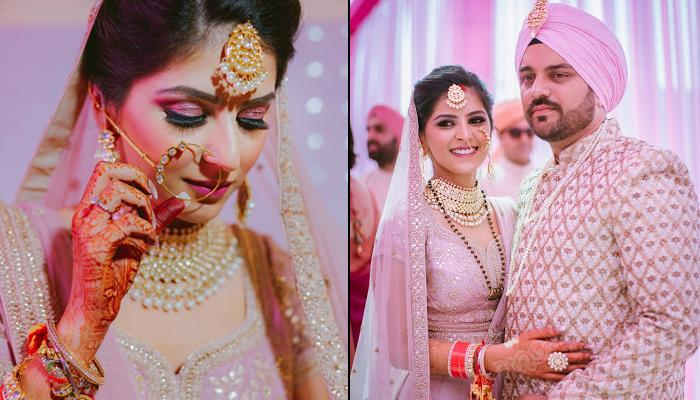 Real Bride Pratishtha's Unique 'Meenakari Mangalsutra' Outshined In Her Self-Designed Bridal Look