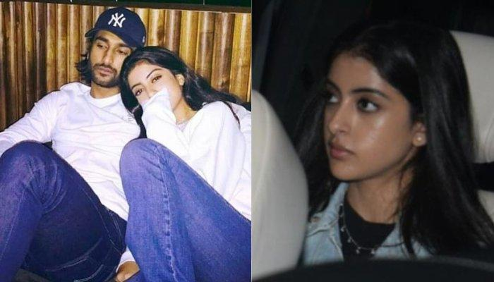 Navya Naveli Nanda Attends Rumoured Boyfriend, Meezaan Jaaferi's Debut Film Screening, 'Malaal'