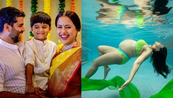 Sameera Reddy's Underwater Maternity Shoot Pictures Have Gone Viral, She Looks Dreamy In Them