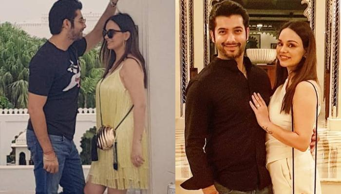 Sharad Malhotra And Ripci Are Enjoying Their Mini Honeymoon To Udaipur Before Heading To Paris