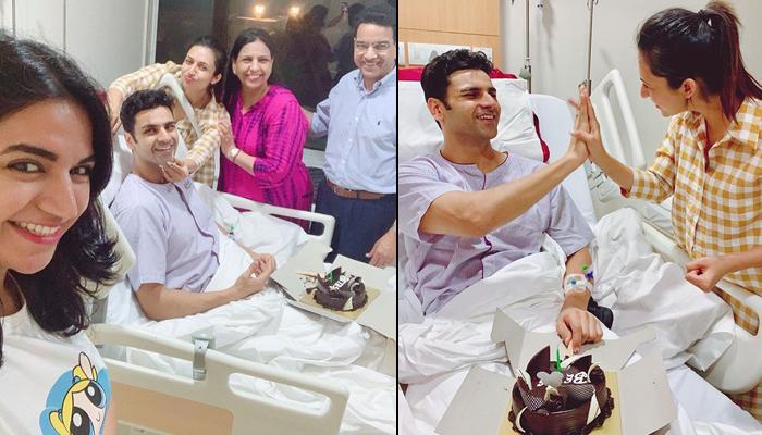 Divyanka Tripathi And Vivek Dahiya's Family 'Sneak In Cake' In Hospital To Celebrate 3rd Anniversary