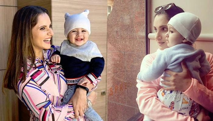Sania Mirza Feeds Baby Izhaan Mirza Malik In Between The Shots While Watching Match, Picture Inside