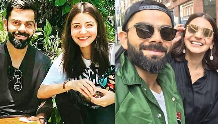 Virat Kohli And Anushka Sharma Twin In Black And White, Teach Us To Be Comfy And Classy At Same Time