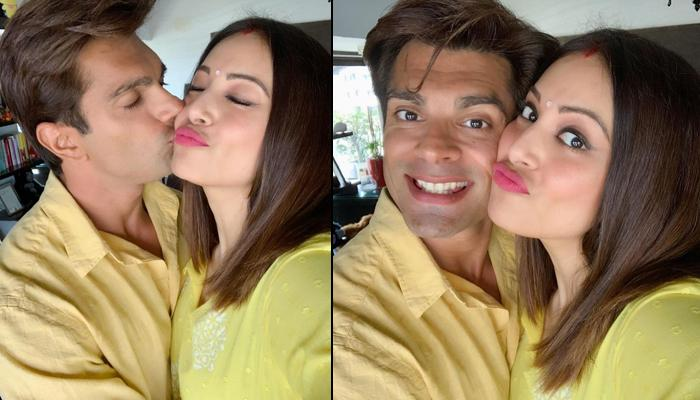 Bipasha Basu And Karan Singh Grover's 'Pujo Twinning' Is Making Us Crush On Them All Over Again