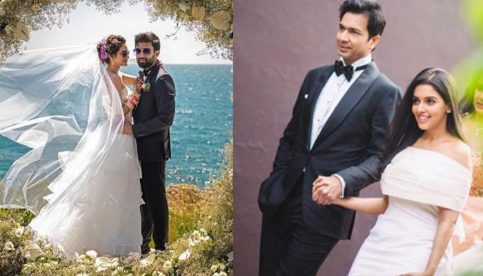 From Nusrat Jahan To Asin Thottkumal, These Celeb White Weddings Look Straight Out Of A Fairytale