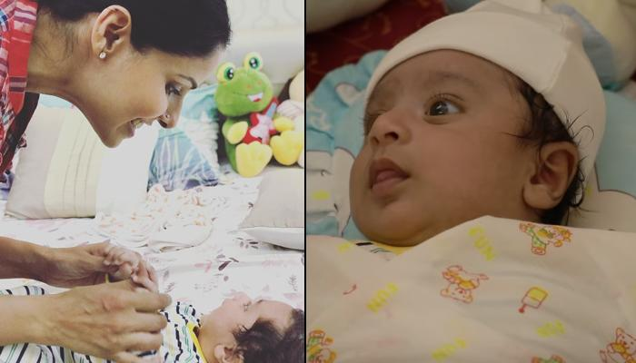 Chhavi Mittal's Two-Month-Old Son Arham Hussein's First Pictures Are Making Us Drool Over Little One