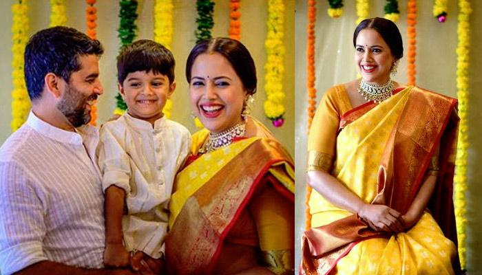 Sameera Reddy Becomes Mother For The Second Time, Shares A Lovely