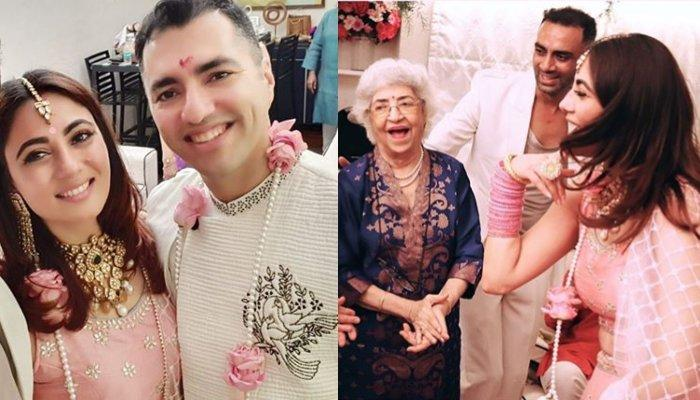 Pooja Ghai Shares The First Full Family Picture From Her Wedding With Nowshir, They Look So Happy