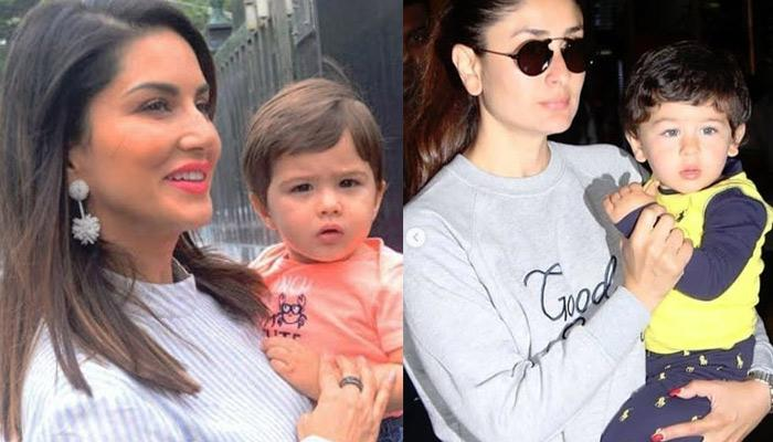 Sunny Leone's Son Looks Like Taimur Ali Khan's Twin, Fans Get Confused If She Was Holding Tim