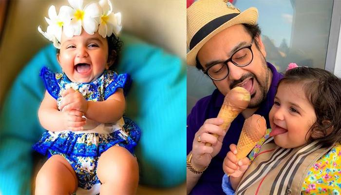 Adnan Sami Enjoys A Garden Party With His Daughter, Medina, She Seems Super-Happy [VIDEO]
