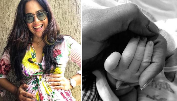 Sameera Reddy's Newborn Baby Girl Cuddled In Her Arms In Latest Picture Speaks Volumes Of Love