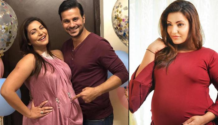 Navina Bole Shares The First Glimpse Of Her Two-Month-Old Daughter, Kimaayra Resting On Her Shoulder