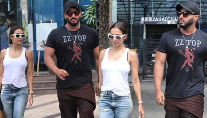 Malaika Arora And Arjun Kapoor Show Off Their Style Game As They Step Out For A Romantic Lunch Date