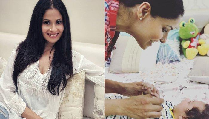 Chhavi Mittal Pens A Beautiful Note On Pleasures Of Raising A Baby, Talks About Being Newbie Parents