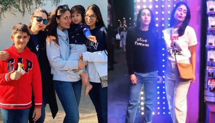 Taimur Ali Khan Is Back After Long Time, Karisma Kapoor Shares A Family Picture From London Holiday