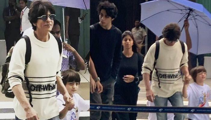 Shah Rukh Khan Is Holidaying With His Kids, Aryan, Suhana And AbRam In Maldives