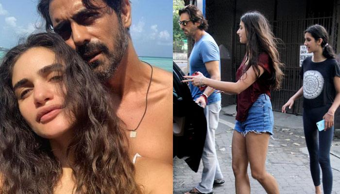 Arjun Rampal's Heavily Pregnant GF, Gabriella Admitted To The Hospital, His Daughters Pay A Visit