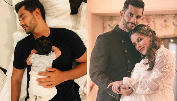 Angad Bedi Reveals 8-Month-Old Mehr Loves To Swim, Shares His Secret Of Spending Time With Her
