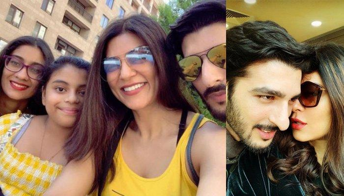 Sushmita Sen And Alisah's Activities Made Rohman Shawl And Renee Wonder What To Do With Them