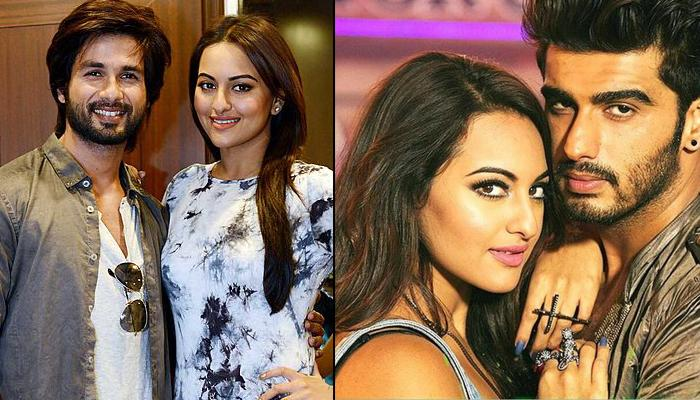 Sonakshi Sinha Admits To Have Dated A Celebrity And The World Doesn't Know! Is It Shahid Or Arjun?