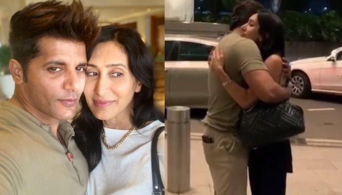 Karanvir Bohra Shares A 90s Filmy Style Video With His Wife, Teejay Sidhu At The Airport