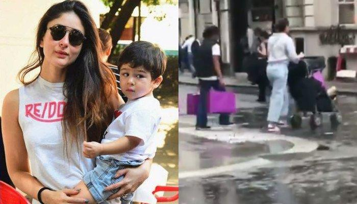Kareena Kapoor Khan Takes Taimur Ali Khan For A Stroll In Streets Of London After Lots Of Shopping