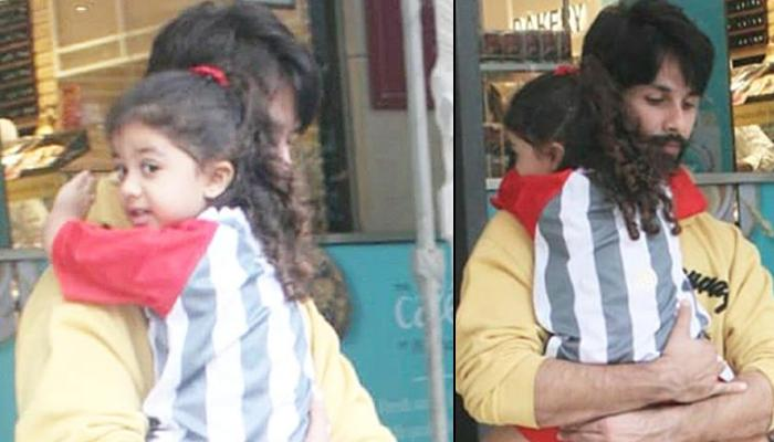 Misha Kapoor Cuddled In Shahid Kapoor's Arms, Not Letting Him Go Proves She Is Her Daddy's Princess