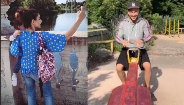 Soha Ali Khan Shares Fun Pictures With Kunal Kemmu And Daughter, Inaaya From Her London Vacation